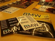 only BMW のステッカー。