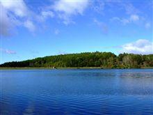 連休に女神湖に行きました