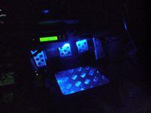 自作LEDフットライト取り付け完了~♪