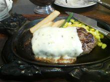お昼のメニュー イタリアン・ハンバーグ