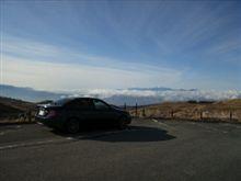 霧ヶ峰はぴーかんでした。