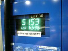 燃費の記録簿(61回目)