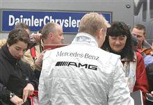 ハッキネンがマクラーレンをテスト?サーキットに現れた元チャンピオン