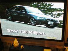 本日のカーグラフィックTV 「E46 330i M-Sport」