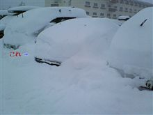 雪だるまレガシィー^ロ^;