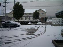雪キタ━━━━ヽ(・肉・  )ノ━━━━!!!!
