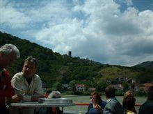 このようにデッキからバッハウ渓谷が望めます。