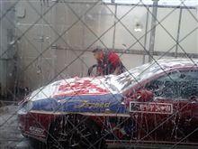 今年最後の洗車!!