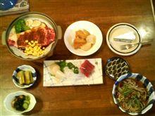 我が宿の夕食ですよ~