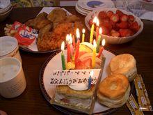今年はありがとうございました(^^♪(お誕生日中にご挨拶♪)