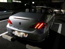 本日の試乗 「Peugeot 307CC」