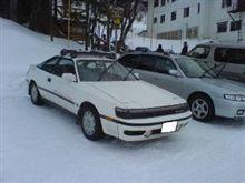 志賀高原で、このクルマだと?