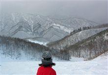 雪山遊び。