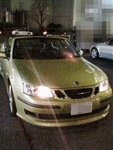 本日の試乗 「Saab 9-3 Cabriolet」