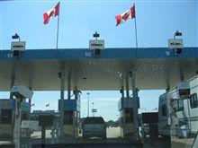 カナダの税関をこれる