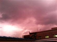 本日17:30頃の空