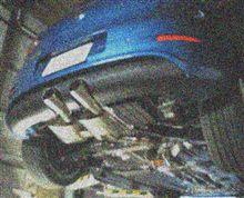 V型R32用BlueWave完成間近
