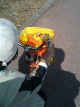 ボンの自転車練習