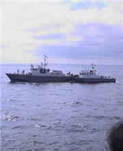海猿の船に乗船