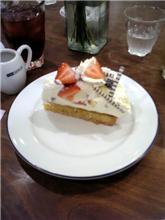 コムサのカフェでケーキ!