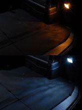 自作LED最後はラゲッジルームランプ