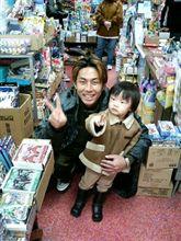 偶然にも、袴田吉彦さんと・・・。