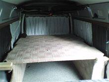 二の字シート・・・2段ベッド・・・カート2台収納・・・大作戦③