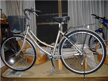 今度は自転車