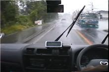 納車以来はじめてのワックス掛けがこんな天気を招くとは・・・