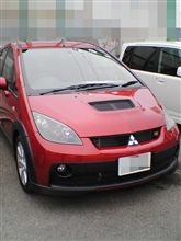 本日の試乗 「三菱 COLT Ralliart version-R」
