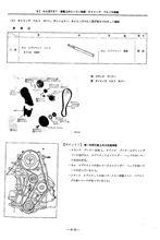 MA09ERTエンジンのタイミングベルトとウォーターポンプ整備資料を掲示