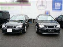 本日の試乗 「Saab 9-3 Sport Estate Linear」