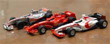 Formula1 ファミリーマート限定2007ミニチュアモデルコレクション