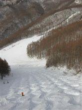 今期最後の雪山遊び。