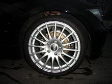 タイヤ交換ヾ(゚ω゚)ノ゛