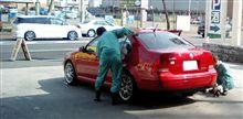 久しぶりのワックス洗車