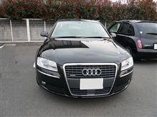 本日の試乗 「Audi A8 4.2 FSI quattro」