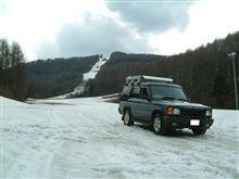 林道ツーリング&雪遊び