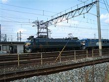 今日も電車を見にきました・・・