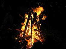 焚き火キャンプ2007開幕