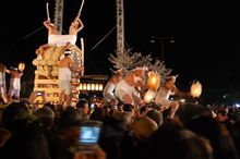 古川祭り「起し太鼓」