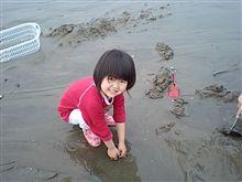 潮干狩り・・・バカ貝の巻