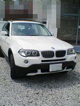 本日の試乗 「BMW X3 2.5si」
