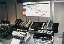 YAMAHAの F1 V10エンジン