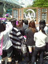 東京ドームに女子いっぱい
