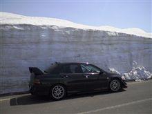 雪の回廊とエボ~鳥海山~