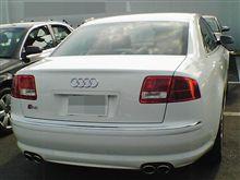 本日の試乗 「Audi S8」