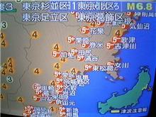 地震だぁーノ( ̄0 ̄;)\