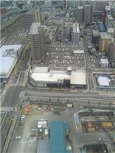 上空からのLEXUS高松店