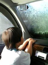 超手抜き洗車